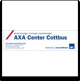 Logo Axa Center Cottbus